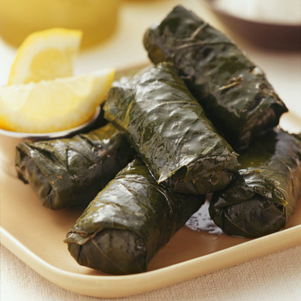 Veggie  grape leaves $7.99